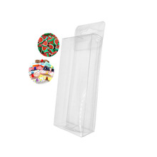 Clear Fishing Lure Packaging Plastic Display Box