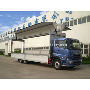 Convenient Port Loading Vehicle Wing Opening Truck