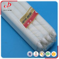cheap straight paraffin wax white candle