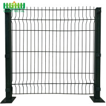 Low Price PVC Coated Welded 3D Curvy Fence