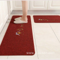 Non-slip clean house embroidery custom door mat