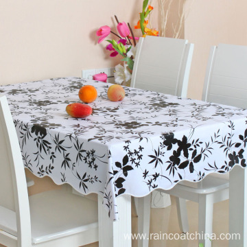 Custom Plastic PVC Table Cloth