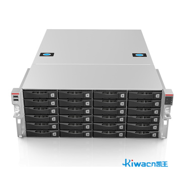 Intelligent traffic storage server chassis