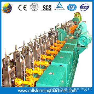 High frequency welded pipe roll forming machinery,pipe welding equipment