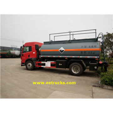 FAW 2500 Gallon Hydrochloric Acid Transport Trucks