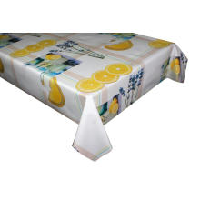 Elegant Vinyl Tablecloth with Non woven backing