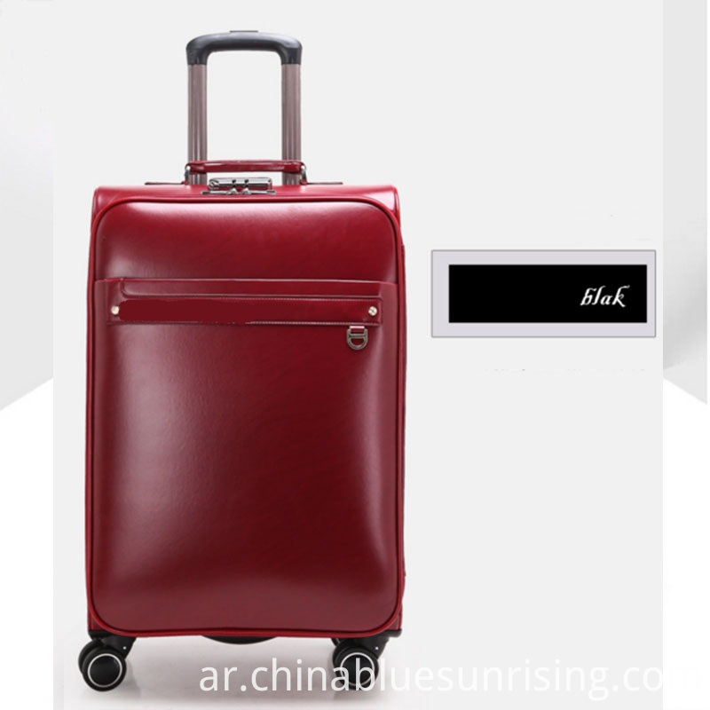 Working pu luggage