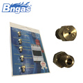 Stainless steel copper nozzle gas pilot nozzle