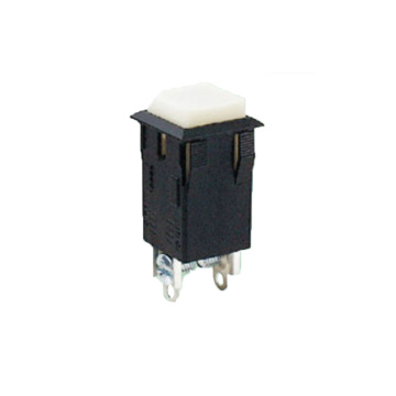 Square SPST Momentary Push Button Switch