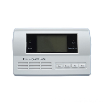 Fire Alarm Intelligent LCD Repeater Panel