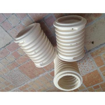 alumina ceramic insulation high strength tube bushing