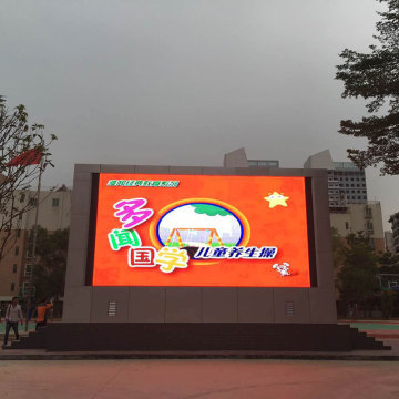 Outdoor full color advertising led display panel