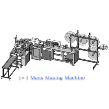 Full Automatic Disposable Nonwoven 3ply Face Mask Machine