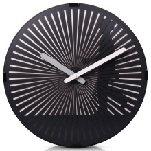 Round Motion Walking Man Wall Clock