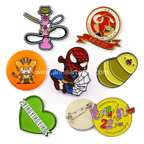 Custom Soft Enamel Emblem Cheap Bulk Logo Pins