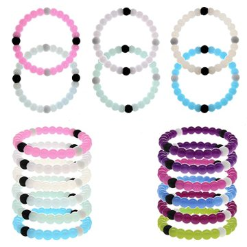 Custom Food Grade Silicone Change Color Bracelets