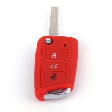 VW Folding Silicone Car Key Case