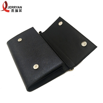 Hand large Black Clutch Money Holder for Phone