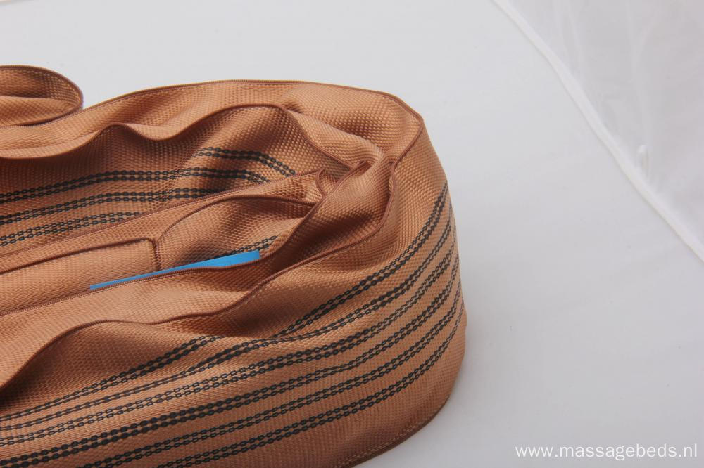 20T Brown Load Capacity Polyester Round Sling