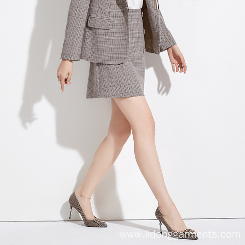Women A-line Office/Casual Suit Dress/Skirt