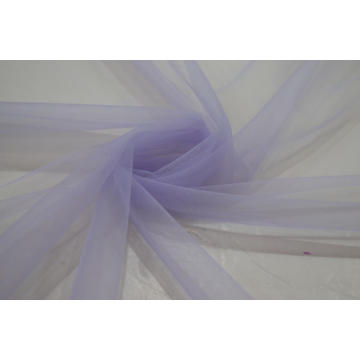 100% Nylon Purple Swiss Mesh Fabric