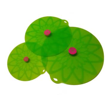 New Design Reusable Flexible Silicone Lid Set