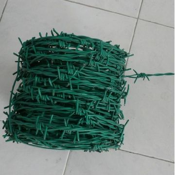 Double Strands PVC Coated Galvanized Cheap Barbed Wire
