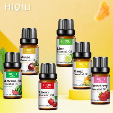 HIQILI Coconut Coffee fruit Aroma Perfume Humidifier Pure Essential Oils Soap making Oil fresh air Car perfume Lasting Fragrance