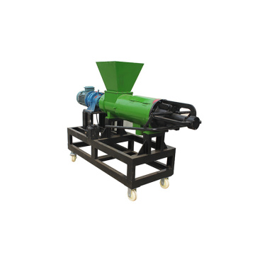 Cow dung dewater sludge liquid solid separator
