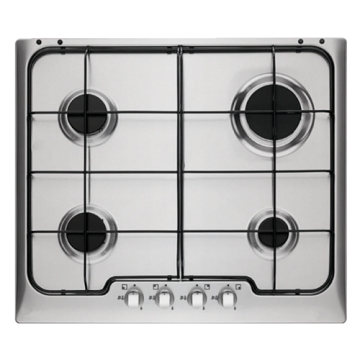 Electrolux Gas Cooktop Stainless Steel 60CM