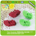 train shaped eraser gift stationery set