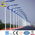 20m Single Arm Steel Lighting Mast Pole Factory