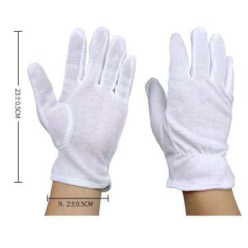 PVC Mini Dotted Cotton Knitted Work Glove