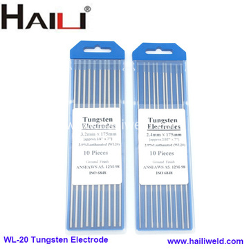 WL20 Lanthanum Tungsten Needle Lanthanated Tungsten