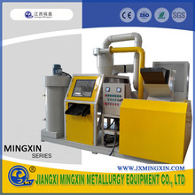 Recycling granulator extruder wire grinding machine