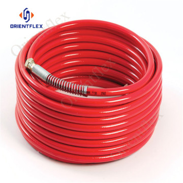 1/4 thermoplastic airless paint sprayer hose cover 22.7Mpa