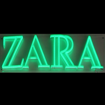 ZARA LED NEON SIGN