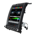 system stereo android 9 PX6 ar gyfer F150 2014