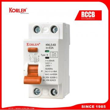 Residual Current Circuit Breaker Rccb B-Type 40a-300ma