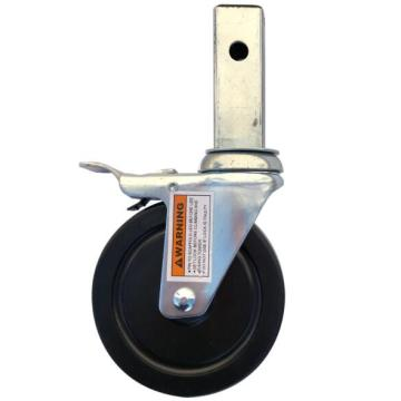 5'' lock casters for rolling scaffolding