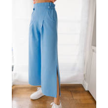 2020 Hot Sale Wide Leg Pant With Buckle
