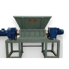 Plastic Recycling  Double Shaft Shredder