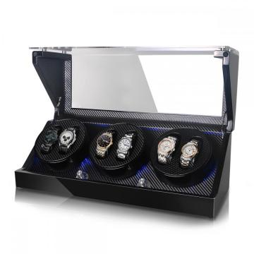 Triple Rotor Watch Winder With Quiet Motor