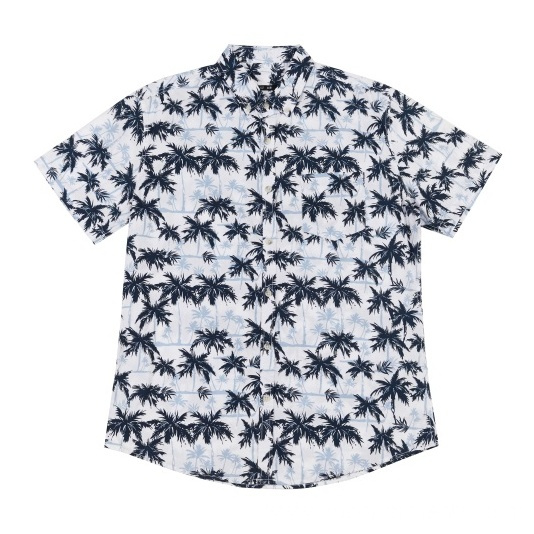 2020 New Design Men's woven cotton shirt
