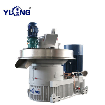 YULONG XGJ850 2.5-3.5T/H wood pellet making machine for selling