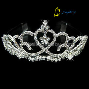 Middle crystal custom pageant tiaras CR-019