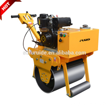 Walk behind single drum mini vibrating road roller Walk behind single drum mini vibrating road roller