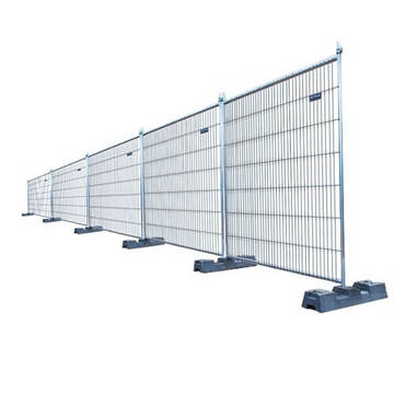 Temporary Fencing used to for building sites, road works and public events