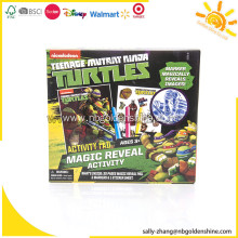 Turtles Magic Reveal Activity Set