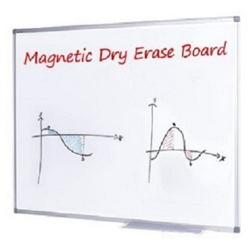 Invisible Wall Mounted Dry Erase Magnetic Writing Whiteboard